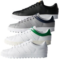 adidas Golf Mens Adicross Classic Climastorm Spikeless Leather Golf Shoes