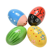 Wooden Sand Eggs Children Kids Baby Educational Instruments Musical Toys SMS