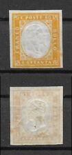 Briefmarken Italien Sardinien 1855, Mi.Nr. 14, Ungebraucht mit Falz