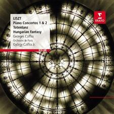 György (Georges) Cziffra/Orche - Liszt: Piano Concertos 1 And 2 (NEW CD)