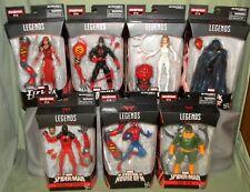 Marvel Legends SPIDER-MAN SET OF 7 Cloak Dagger Daredevil Doc Ock Scarlet SP//dr