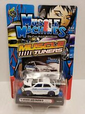Muscle Machines Muscle Tuners '01 Mitsubishi Lancer Evolution VII White 2004