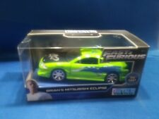 Fast & Furious Brian's Mitsubishi Eclipse Die-Cast 1:32 Scale Dented Blister