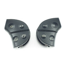 MERCEDES CLK W208 W210 Steering Wheel Airbag Control Buttons Switches AMG Black