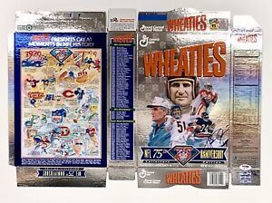 Walter Payton Signed 75th Anniversary Wheaties Box Autographed Payton & PSA/DNA