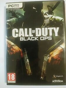 Call Of Duty Black Ops PC DVD ROM Games Activision