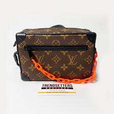 Louis Vuitton Virgil Collection Mini Soft Trunk M44480 Leather Bag Handbag LV X