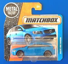 RARE 2016 Matchbox BLUE 2017 VOLVO V60 SPORTS WAGON - mint on short card!