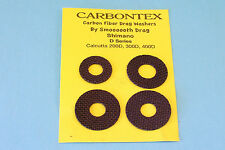 """CARBONTEX"" SHIMANO D SERIES 200D 300D 400D UPGRADED DRAG WASHERS BY SMOOTH DRAG"