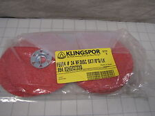 5pk Klingspor Fibre Discs Fs964 24 Rf Disc 5 X 78 New