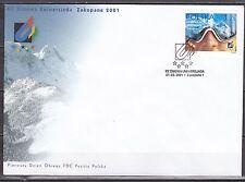 POLAND 2001  FDC SC# 3566  Winter Universiade - Zakopane
