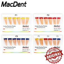 1 Box 60 Points Dental Gutta Percha Paper Points Tips Macdent Original Easy