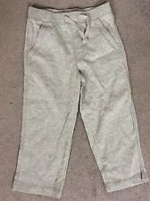 BABY GAP GREY JOGGERS WITH FRONT DRAWSTRINGS -AGE 12-18m -BRAND NEW WITH TAGS