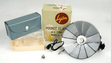 LYON POCKET FLASH B.C. TYPE MODEL L-II IN ORIG BOX W/ CASE AND BULB