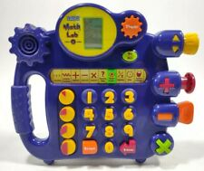 VTech Math Lab Electronic Learning Game 10 FUN ACTIVITIES Great Learning Tool