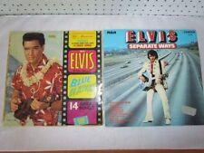 Elvis Presley Rock Good (G) Sleeve Vinyl Records
