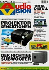 Film-Zeitschrift # Home Entertainment # AudioVision # Heft 05/1996 # Sept.-Okt.