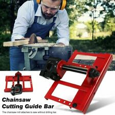 Lumber Cutting Guide Steel Timber Tuff Chainsaw Attachment Saw Mill Wood Cut