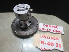 Okuma Lb 15 Cnc Lathe Hydraulic Spindle Actuator Cylinder Sheffer 95 7416 D12 7