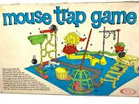 VINTAGE RARE 1963 Mouse Trap Board Game by Ideal Original Box 100% ALL Pieces!
