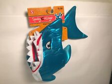 Spooky Village Pet Dog Blue Shark Costume Size Small 11 in NWT