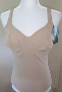 Wacoal Women's Shapewear Beige Size 40DD Bodybriefer Body Suit