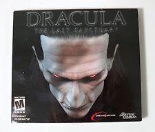 Drácula-El último santuario Original Juego de PC Nuevo Envíos A Todo El Mundo