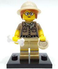 Lego PALAEONTOLOGIST Minifigures Bone Fossil Dinosaur Scientist 71008 Series 13