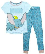 Womens Pyjamas Disney Pjs Dumbo Elephant Embrace Ladies Pajamas Sizes 8 to 22