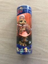 Littlest Pet Shop #1080 Angel Monkey and #1081 Palomino Horse-New in tube