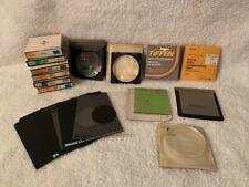 Large Lot Camera Lenses Filters Accessories Kodak Hoya Tiffen Ambico 52.0s