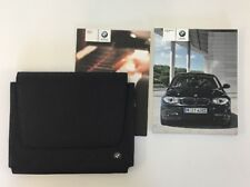 BMW 1 SERIES OWNERS PACK / HANDBOOK COMPLETE WITH WALLET 2007~2011 (2008)