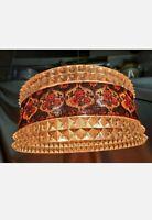 Wunderschöne 60/70er Deckenlampe, Plexiglas+gehäckeltem Flora Stoff,EINZIGARTIG