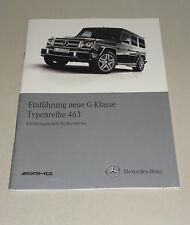 Werkstatthandbuch Einführungsschrift Mercedes G-Klasse W 463 Stand 03/2012