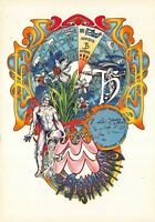 Carte Postale Signe du ZODIAC, VERSEAU - Illustré par Beatrice D'ESTE