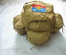 Vietnam War - Viet Cong NLF Combat Rucksack ( Backpack ) - VC -  3 pockets,,