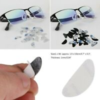 20 Pairs Silicone Anti-Slip Nose Pads Grips Gasket Tool for Glasses Sunglasses