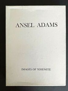 ANSEL ADAMS Black & White Photos - Box of 8 Blank Note Cards IMAGES OF YOSEMITE