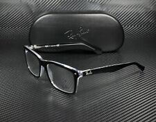 RAY BAN RX5287 2034 Top Black On Transparent Demo Lens 54 mm Men's Eyeglasses