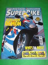SUPERBIKE - SUZUKI GSX R750 - May 2000