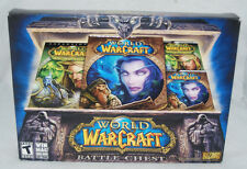 WORLD OF WARCRAFT: BURNING CRUSADE BATTLE CHEST. ALL ORIGINAL CONTENTS