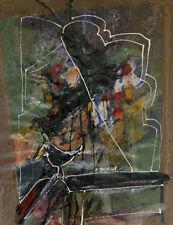 """""""Le corbeau"""" Peinture signée Francis VENDEUGE"""