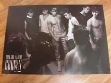 2PM - GROWN Ver.B [ORIGINAL POSTER] K-POP *NEW*