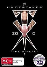 WWE - Undertaker - The Streak (DVD, 2012, 4-Disc Set) - Region 4