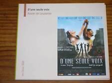 DVD / D'UNE SEULE VOIX / XAVIER DE LAUZANNE / EDITION SPECIALE / EXCELLENT ETAT
