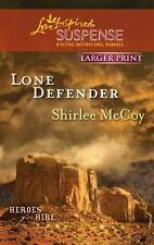 Love Inspired LP Suspense: Lone Defender by Shirlee McCoy (2011PB)