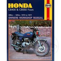 Honda CB 400 F Four 1976 Haynes Service Repair Manual 0262