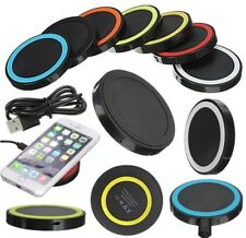 Fast Charging Qi Wireless Charger Slim Charge Pad