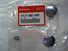 83-86 HONDA V65 MAGNA HANDLEBAR GRIP CHROME END CAPS NEW OEM