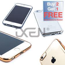 Étuis, housses et coques métalliques en silicone, caoutchouc, gel pour téléphone mobile et assistant personnel (PDA) Apple